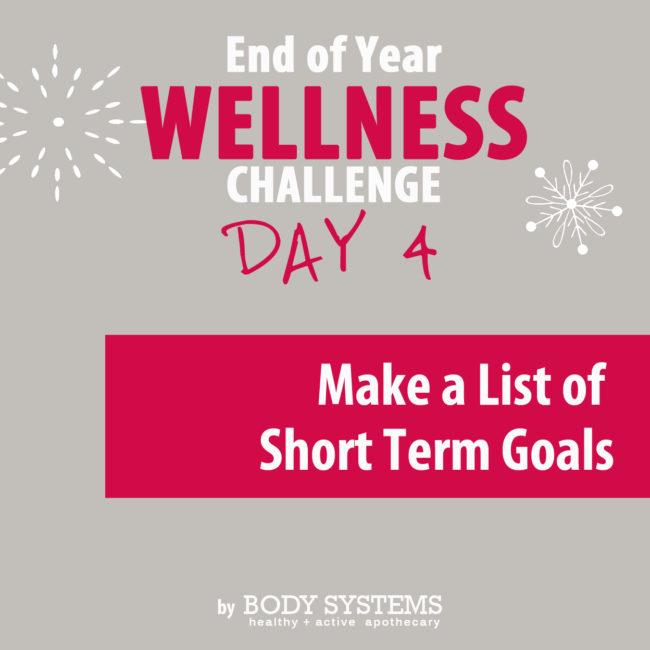 Wellness Challenge Day 4