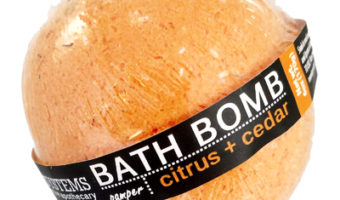Body Systems' Citrus Bath Bomb