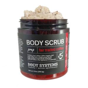 Enjoy 30% Body Systems' Fair Trade Coffee Body Scrub