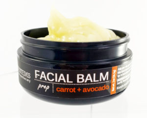 Thick balm protects the entire body with vitamins and beta carotene