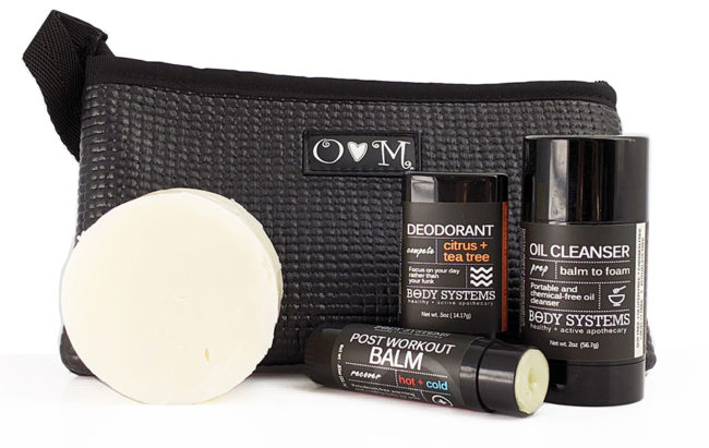 Our GO Essentials Seet is everything you need for the gym in one cute package.